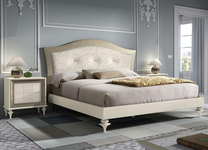 Chambre avec t te de lit garnie mod ga17 for Chambre garnie