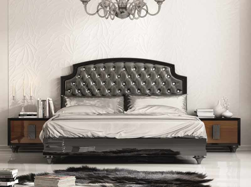 tete de lit luxe. Black Bedroom Furniture Sets. Home Design Ideas