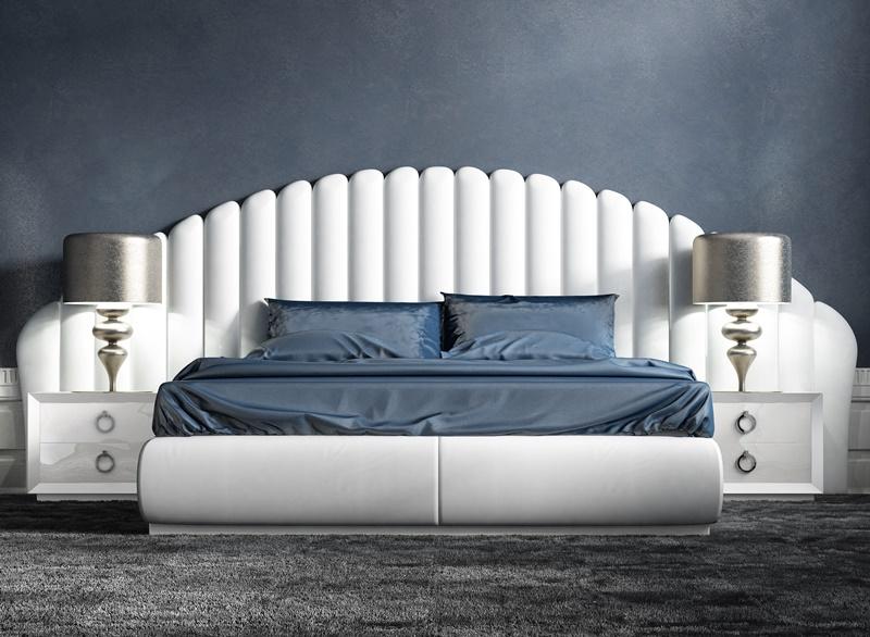 Chambre avec t te de lit garnie mod abbas for Chambre garnie