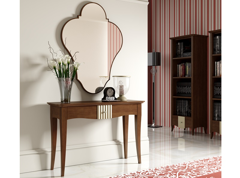 ensemble console et miroir np001. Black Bedroom Furniture Sets. Home Design Ideas