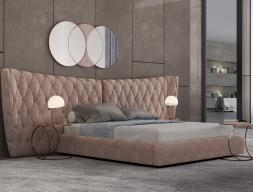 Chambre tapissée et en acier inox. Mod. KAIPA