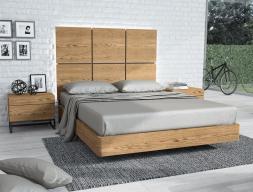 Chambre en bois de chêne. Mod. PLAZA