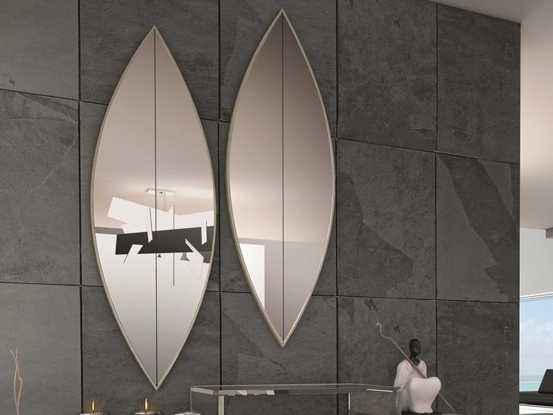 Ensemble console et miroirs. Mod. RIO