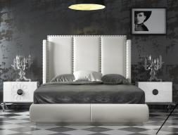 Chambre tapissée design. Mod. ZENDA