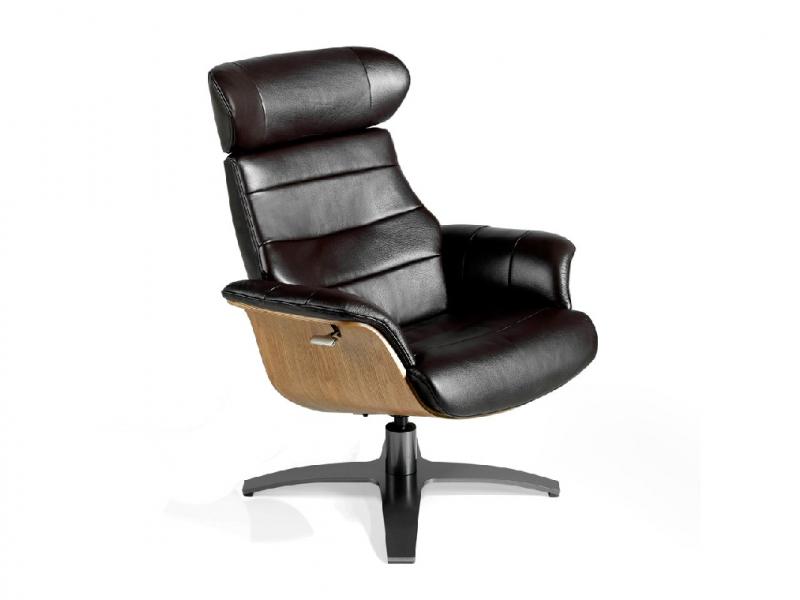 Ensemble fauteuil  pivotant et relax et pouf.Mod: B�LIER