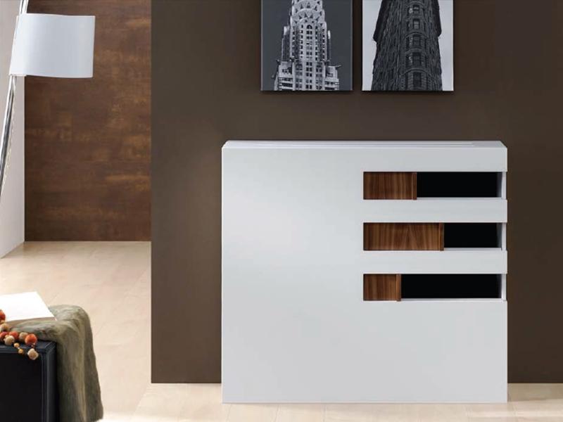 console couvre radiateur mod sly. Black Bedroom Furniture Sets. Home Design Ideas
