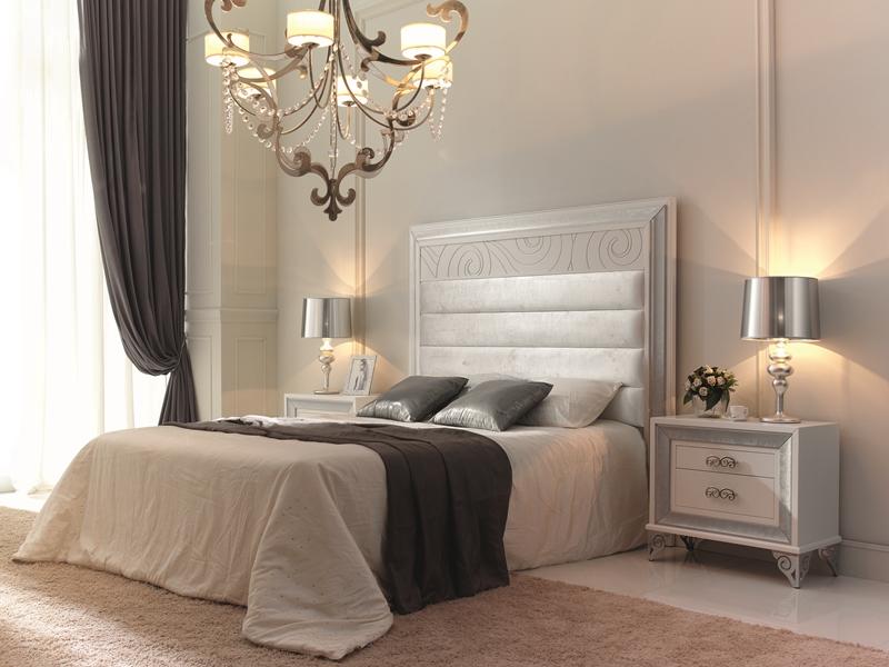 T te de lit garni mod ga1354 - Muebles pintados en plata ...
