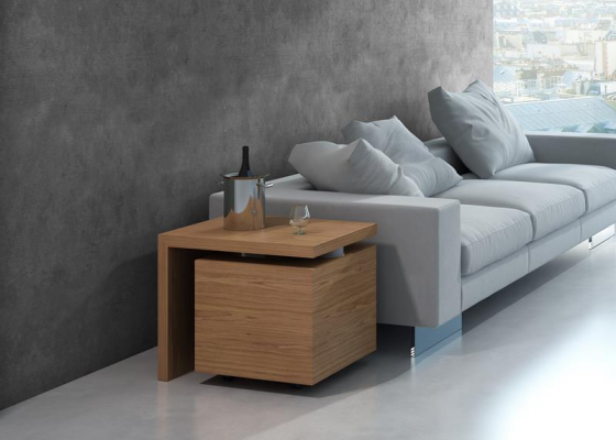 Bout de canapé meuble bar. Mod. GIRO