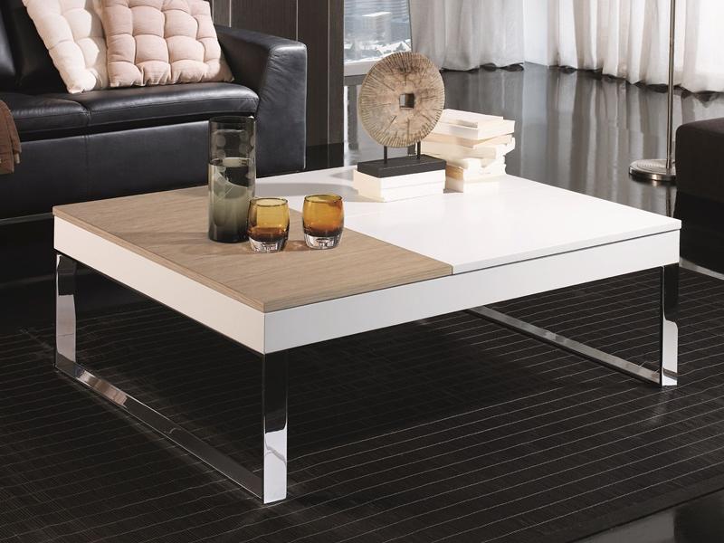 Populaire Table basse avec plateaux relevables. Mod. LEVINN ZB78