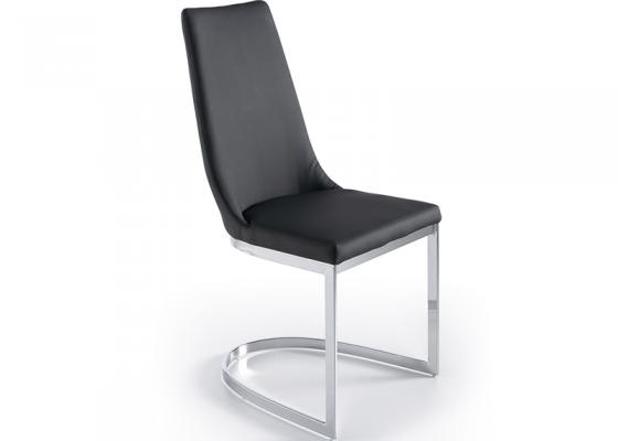 Juego de 2 sillas tapizadas. Mod. STELLA