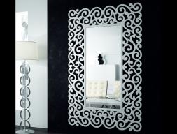 Miroir dressing laqué. Mod. SANDRA ALTO