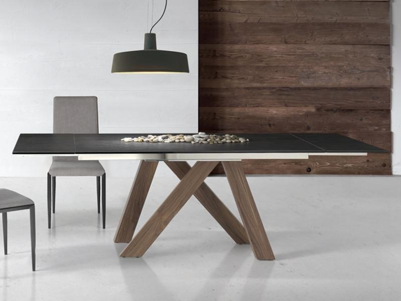 table manger extensible mod tree wood. Black Bedroom Furniture Sets. Home Design Ideas