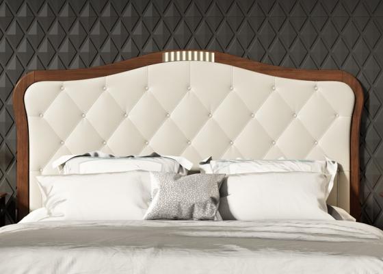 Tête de lit garnie avec capitonné. Mod. NP181