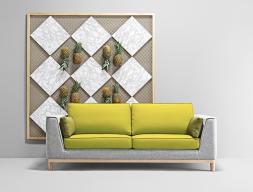 Canapé de  3,5 places. Mod. GATSBY 3PL MAXI