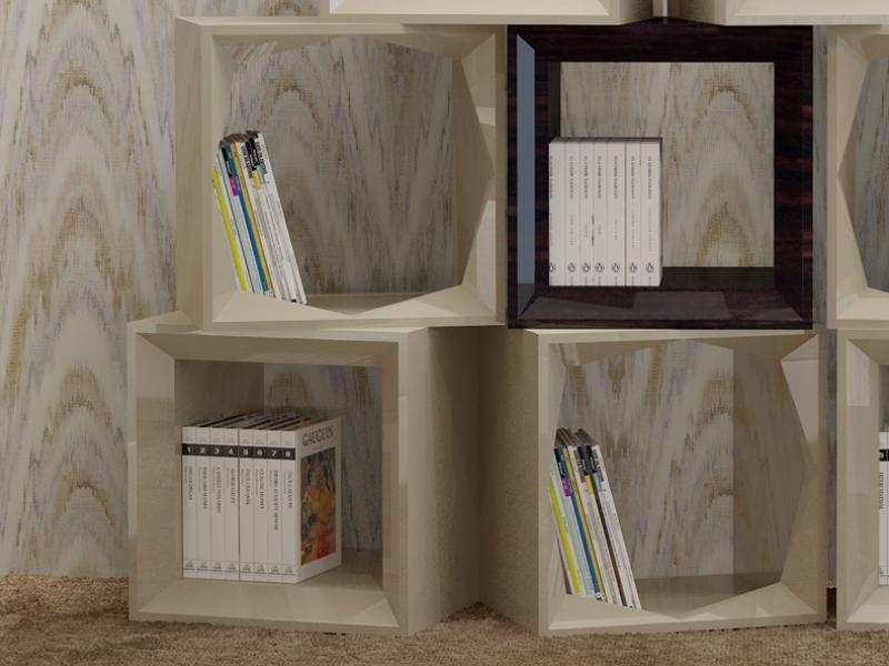Biblioth�que, mod: CUBOS