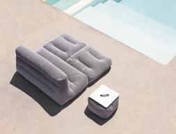 Canapé lit  d'extérieur. Mod. SIT POOL CAMA