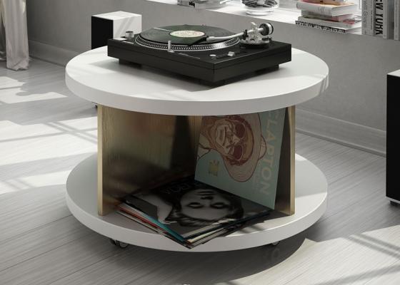 Meuble vinyles. Mod. MONTAND