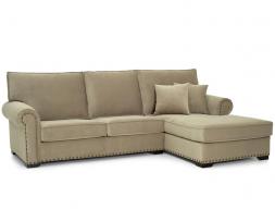 Canapé avec chaise longue . Mod: BIANCO CL