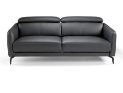 Canapé cuir 3 places. Mod. CAELI 3P