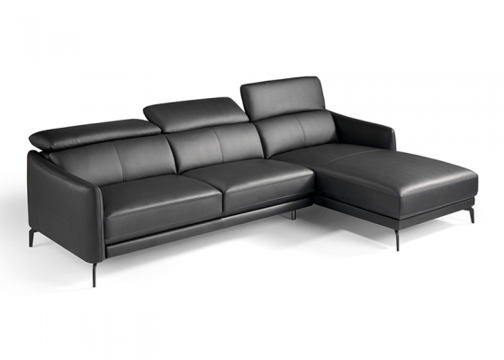 Sofa con chaise longue. Mod. CAELI CL-R