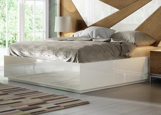 Base de cama lacada. Mod:IKU XXL