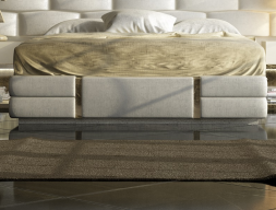 Tour de lit tapissée. Mod: VERDI