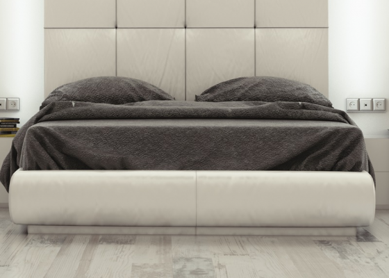 Tour de lit tapissé. Mod: ATHENEA