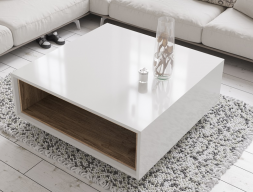 Table basse laquée. Mod. DOLLY