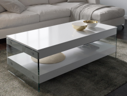 Table basse relevable. Mod. LAXY RELEVABLE