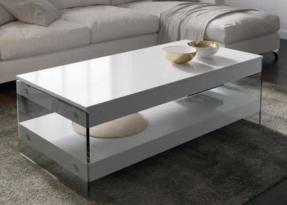 Table basse relevable. Mod. MIAD RELEVABLE
