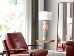 Lampe de table. Mod. NAC109