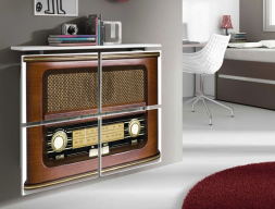Couvre-radiateur. Mod. RADIO