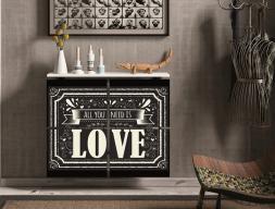Couvre-radiateur. Mod. LOVE