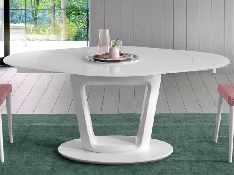 Table A Manger Ronde Extensible Mod Agnes Ronde