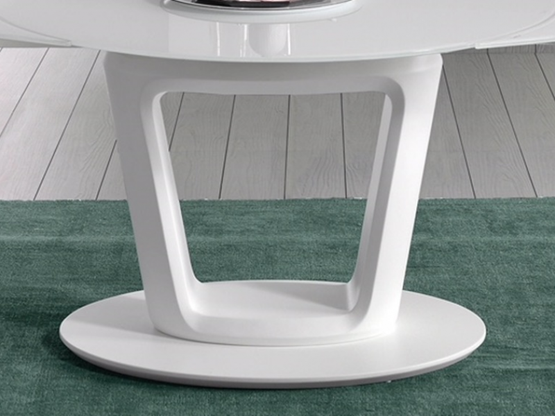 Table � manger ronde extensible. Mod. AGNES RONDE