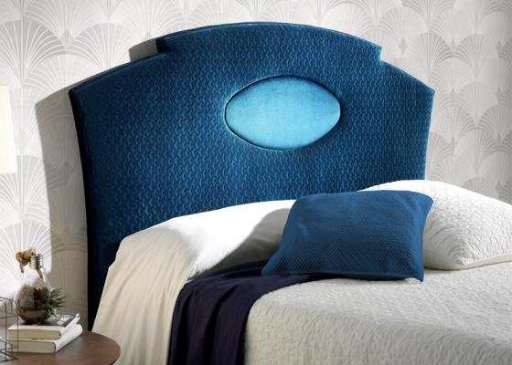 Tête de lit tapissée. Mod. MARSEILLE