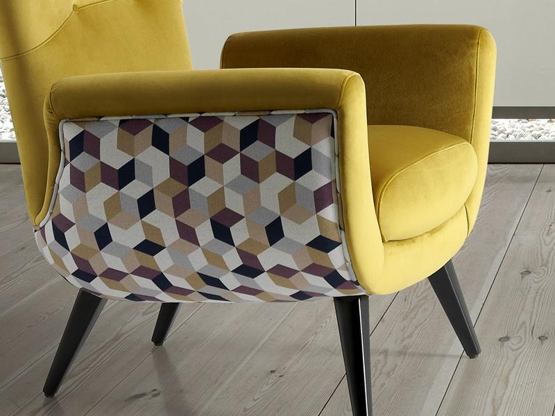 Fauteuil tapiss�. Mod: VENECIA