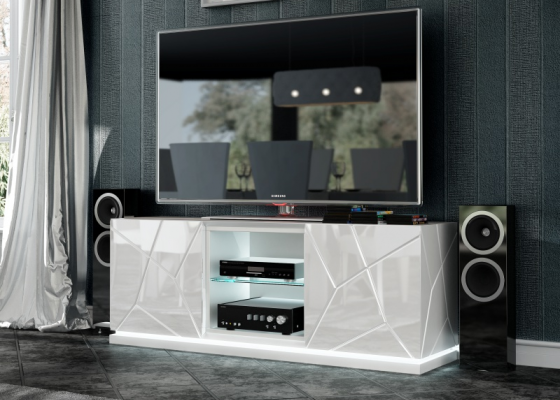 Meuble TV design. Mod. NAUGE