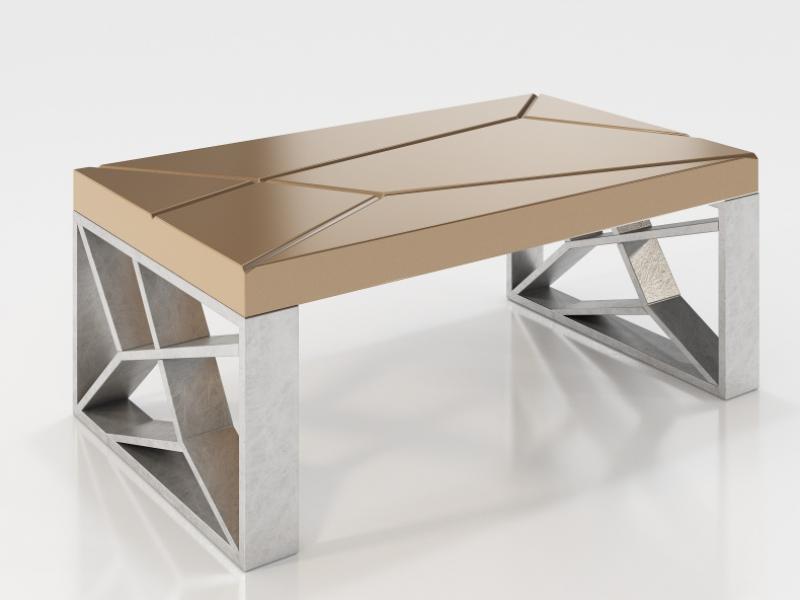 Table basse design. Mod. LINDE