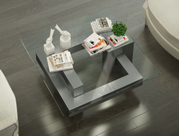 Table basse design. Mod. AGHATA