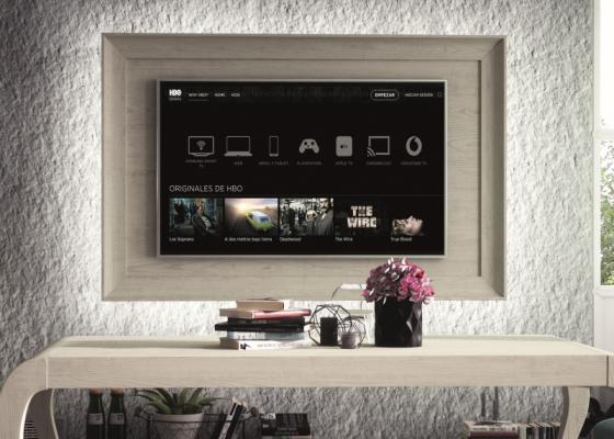 Meuble TV à fixer au mur avec éclairage led. Mod. ATRANI