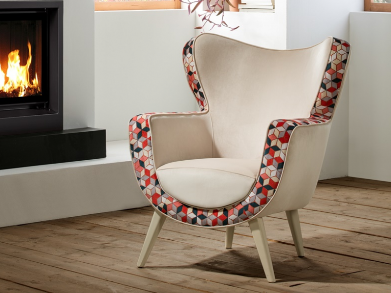 Fauteuil tapiss� . Mod. MILANO