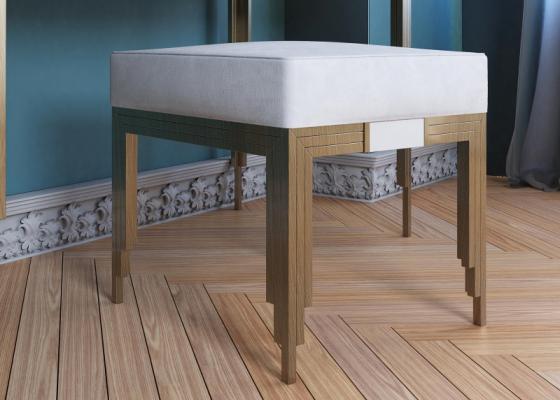 Banquette tapissée design. Mod. GIULIO