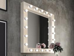 Miroir avec éclairage led. Mod: NACRE