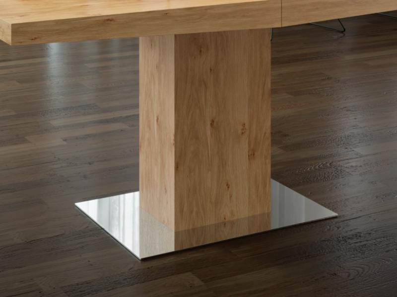 Table � manger extensible. Mod. DORIAN ROBLE ANUDADO
