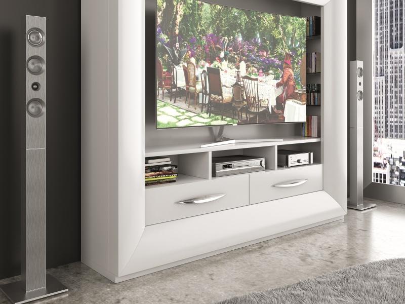 Meuble TV laqu�. Mod: DALIA