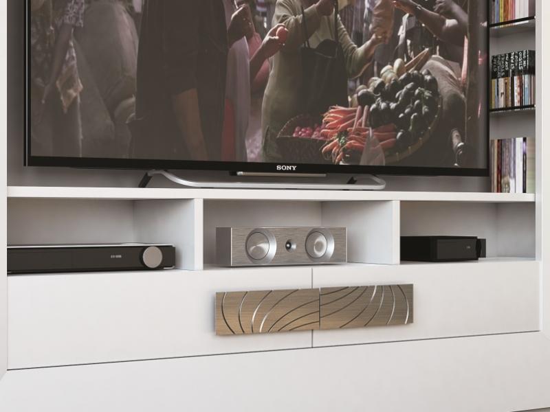 Meuble TV laqu�. Mod: HAMIDA