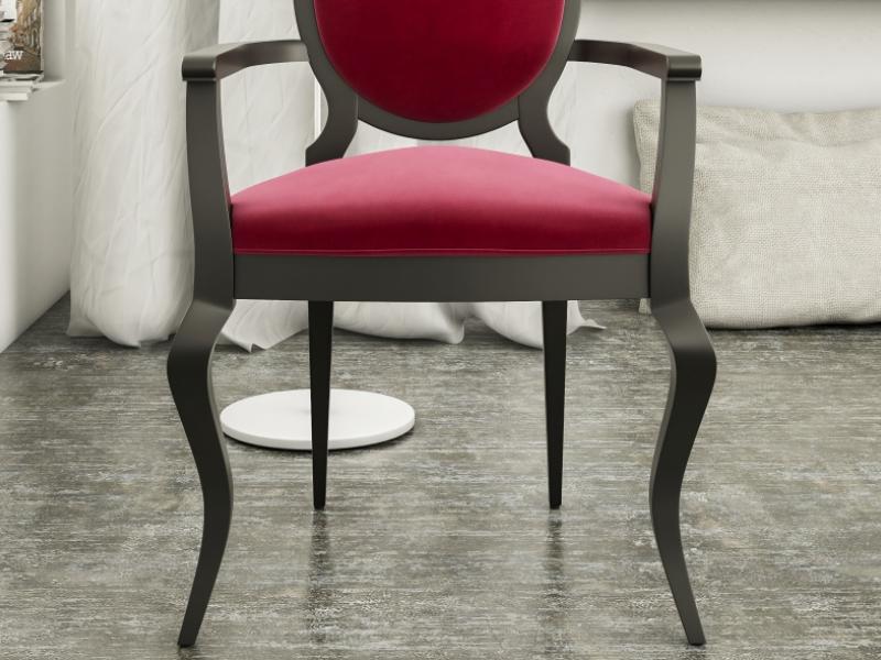 Ensemble de 2 fauteuils tapiss�s. Mod. SEDAN