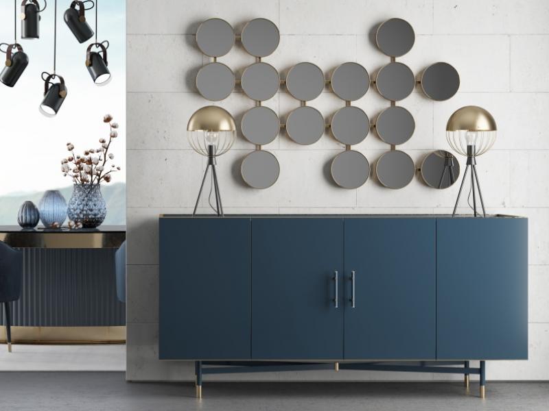 Miroir design. Mod. MONSIEUR