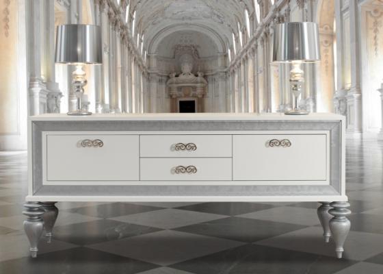 Buffet laqué avec portes et tiroirs. Mod. MOSCOW